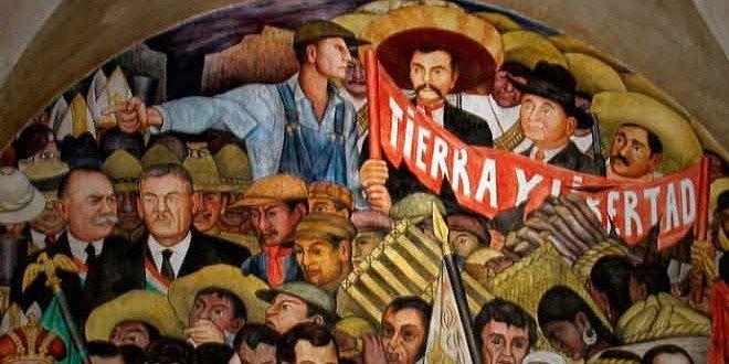 REVOLUCION MEXICO MURAL DIEGO R