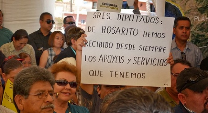 ROSARITO EDA LIMITES PROTESTA