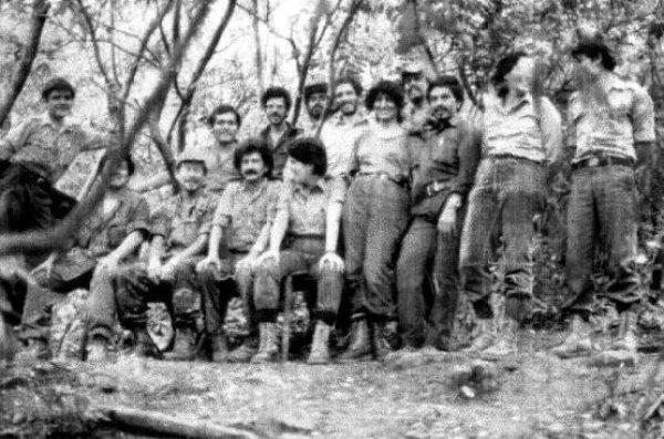 """Dirección política-militar del Frente Popular de Liberación """"Farabundo Marti"""""""
