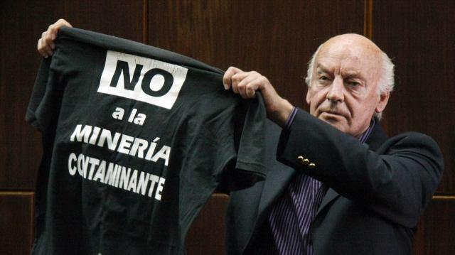 EDUARDO GALEANO NO MINERIA