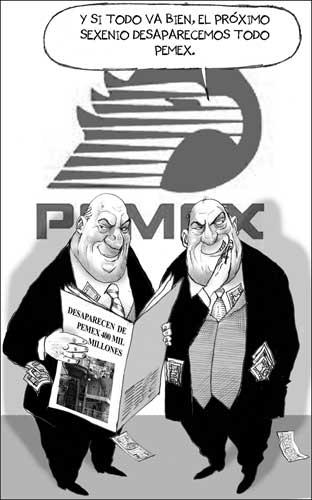 Pemex administración