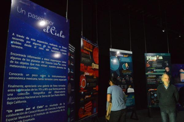 Un Paseo por el Cielo, nueva área astronómica en el Museo Caracol