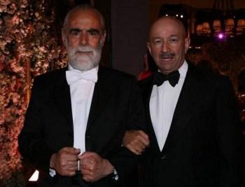 """""""El Jefe"""" Diego Fernández de Cevallos y el expresidente Carlos Salinas de Gortari"""