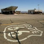 Dilapidated infrastructure example-Route 66