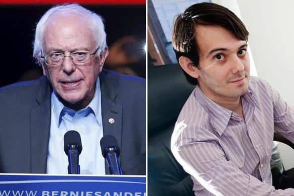 Big Pharma CEO Pitches a hissy fit after Bernie Sanders rejects his contribution