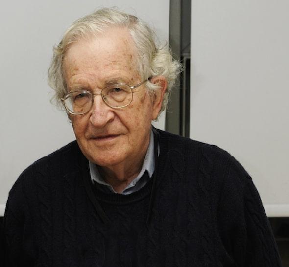 Noam Chomsky Calls GOP a 'Danger to Human Survival'