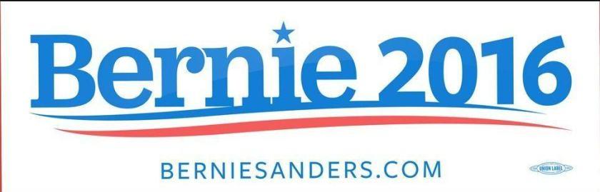 Forever forward - Bernie Sanders 2016