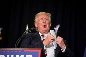 Republican Party candidate Donald Trump