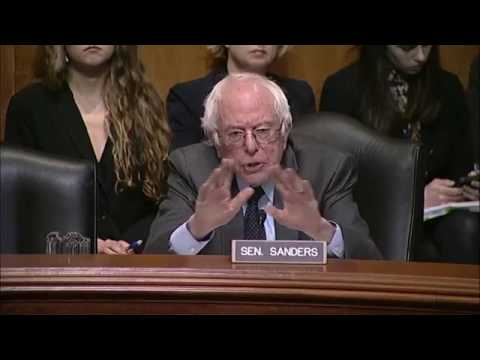 Senator Bernie Sanders Grills Scott Pruitt About Climate Change