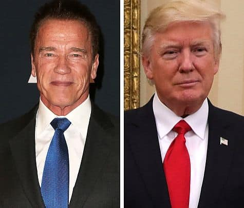 Arnold Schwarzenegger vs. Donald Trump:  Who Wins?