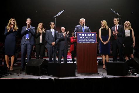 Donald Trump and His Family Break Secret Service Budget