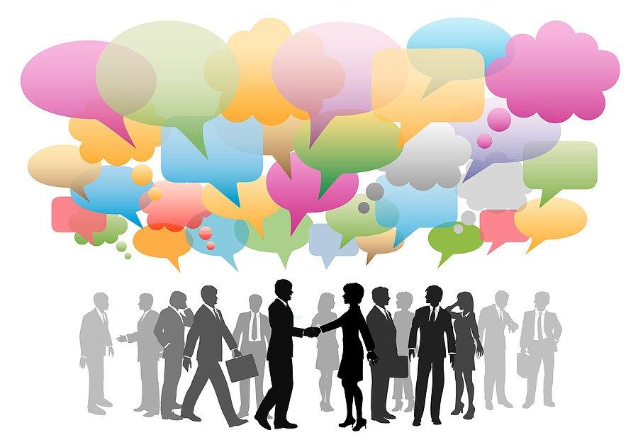 fare networking con i social