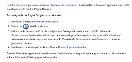 collegamento webmaster