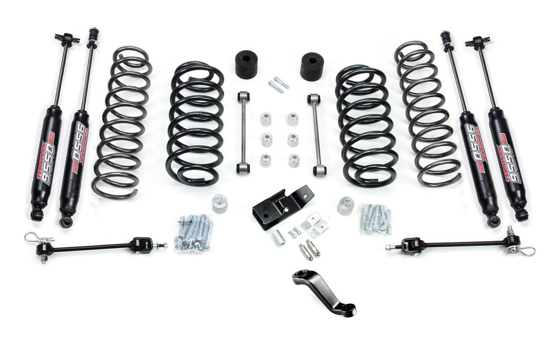 Jeep Tj Lj 4 Inch Lift Kit W Shocks 97 06 Wrangler
