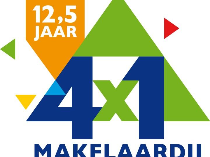 4x1 Makelaardij bestaat 12,5 jaar!