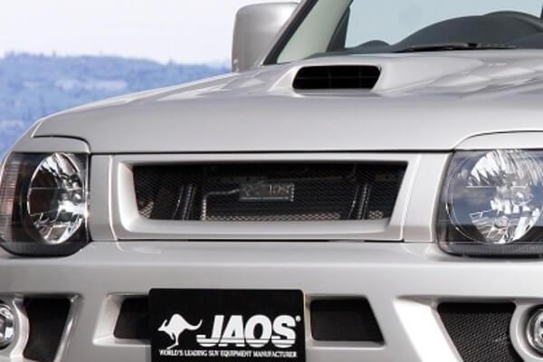 JAOS フロントグリル ジムニー JB23系