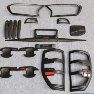 Matte black kits with red for Ford Ranger 2015 T7
