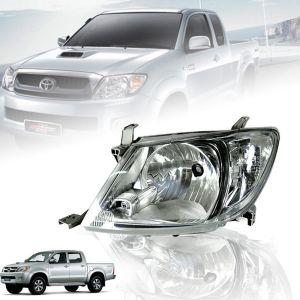 CLEAR LENS HEAD LIGHT FRONT LAMP LEFT SIDE FOR TOYOTA HILUX VIGO MK6 2005-2011