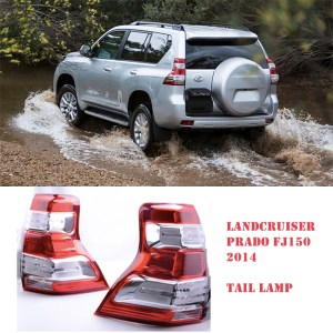 Toyota Land Cruiser Prado FJ150 Tail Light Set 2014-2017