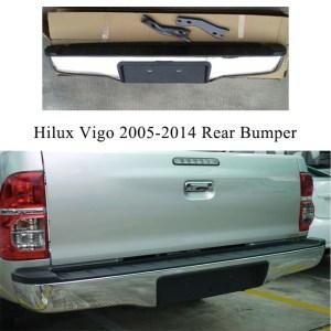 hilux vigo 05-12 rear bumper
