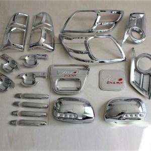 Toyota Hilux Vigo 2012-2014 ABS Chrome Kits