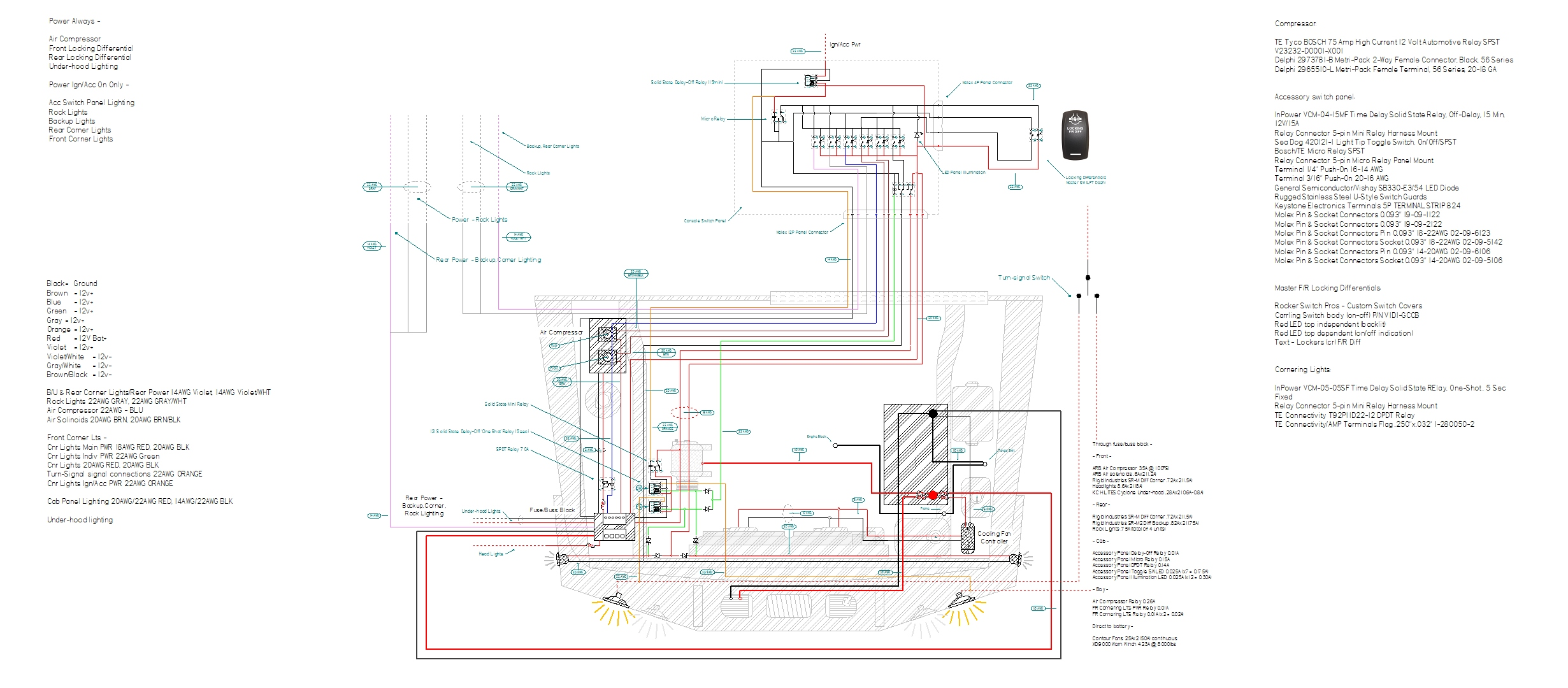 Yacht Electrical Wiring Diagram
