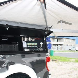 Alu-Cab Shadow Awning on Ford Ranger