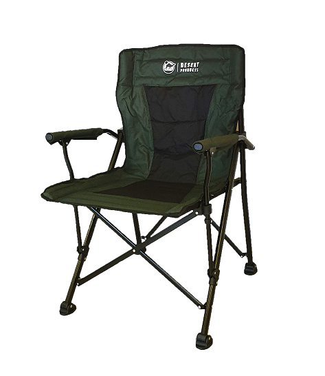 Desert Product Solid Arm Green Chair