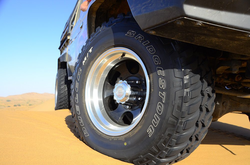 Part 3: Recovery Series - Tyres - the first line of defense