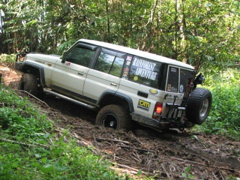 1991 Toyota Land Cruiser Ii Fj70 Gt 4x4 Off Roads 4x4