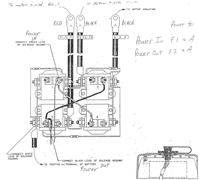 warn winch motor wiring diagram wiring diagram warn winch motor wiring diagram image about