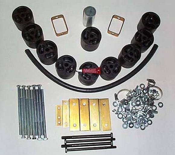 Lift 2 Inch 4x4 4 Lift Suspension F 1990 Inch Body Ford 250