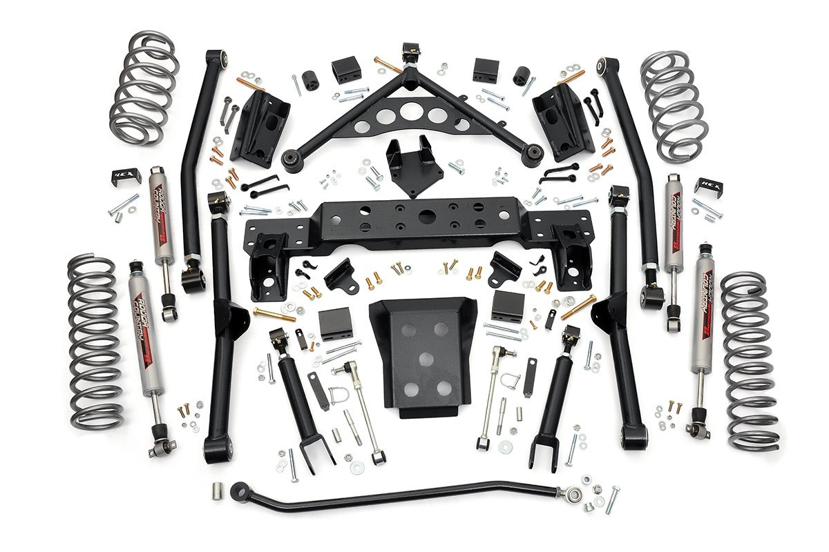 4 Jeep Wj Longarm Suspension Lift Kit
