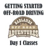 Getting Started Off-road Driving - Day 1 - LA Area