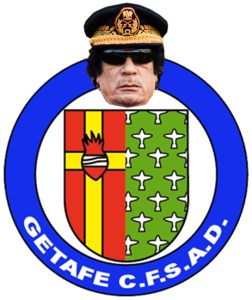 Picture of Colonel Getafe Club Badge - team name for 5-a-side