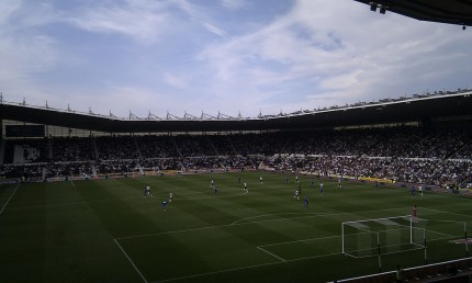 Pride Park - Soon to be the iPro Stadium
