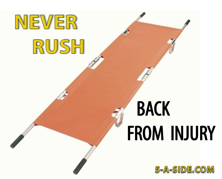 Never Rush Back From Injury