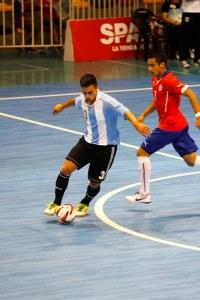 Santiago 2014: Futsal, Chile vs. Argentina