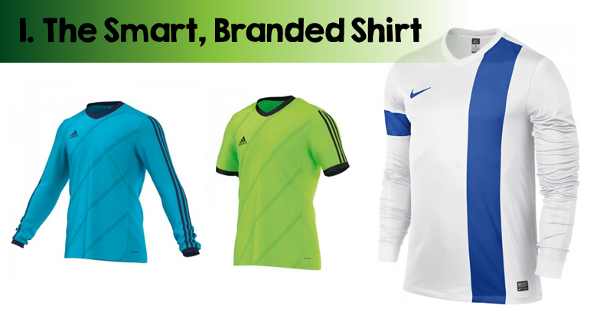 5 a side football shirts