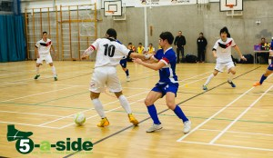 Sean Garnier Futsal Shielding 5-a-side