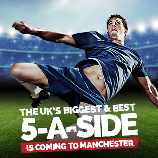 Goals Coming to Manchester 5-a-side