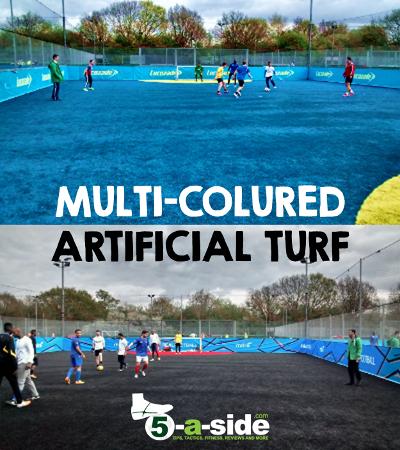 Multi Coloured Artificial Grass