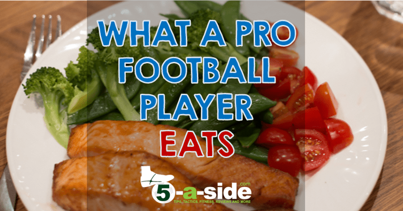 What a pro football player eats meal plan