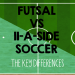 Futsal vs 11-a-side soccer football differences