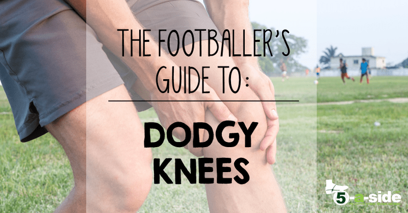 Fix your football knee injury an essential guide 5 a side footballers guide to dodgy knees solutioingenieria Choice Image