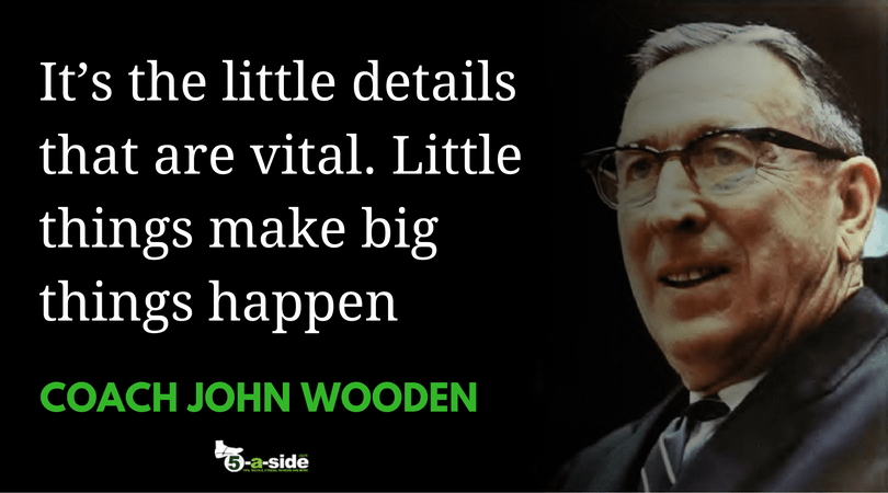 Coach Wooden Details Quote