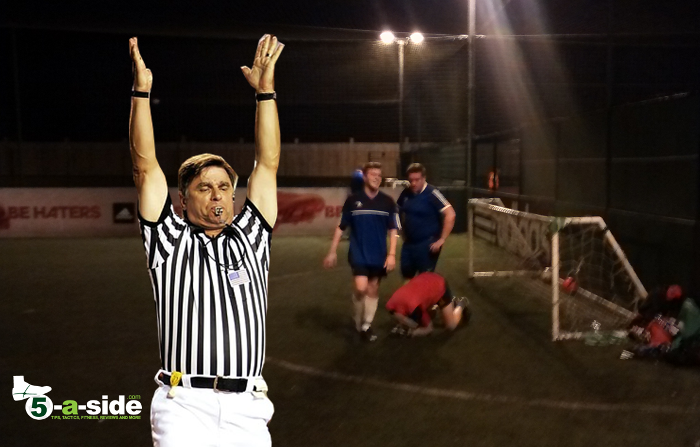 Petty self-refereeing 5-a-side
