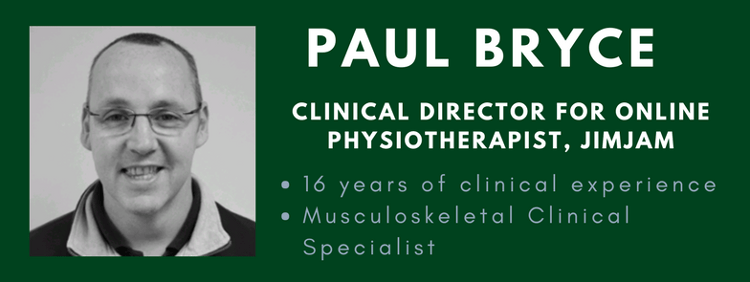 paul bryce online physiotherapist profile