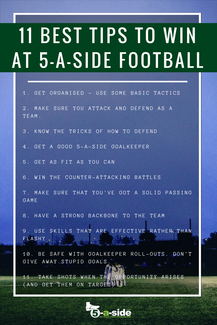 Best 5-a-side football tips