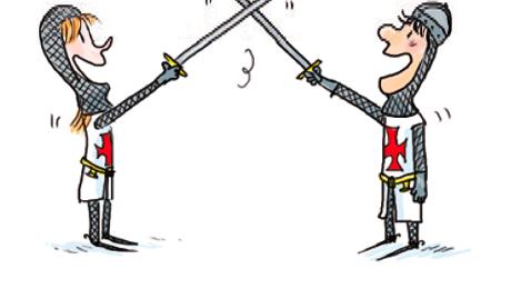 Détail d'une fiche du jeu Le Grand Duel © Zelda Zonk